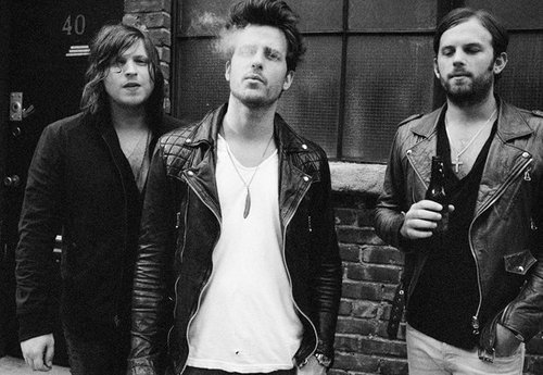 band, black and white, guys, hot, kings of leon
