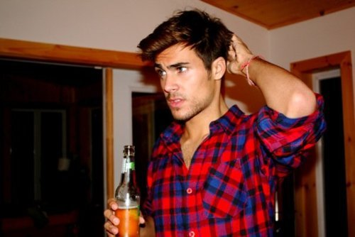 beer, boy, hot, hot man, man