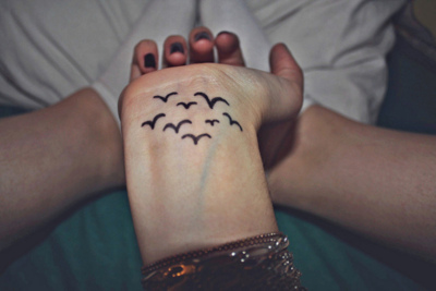 bird, birds, bracelet, flying, hand