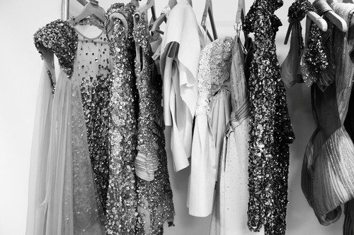 black and white, clothes, dresses, glamour, pretty, sequins, vintage