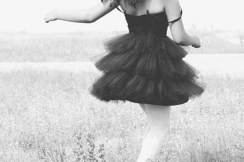 black and white, dance, dress, fashion, girl