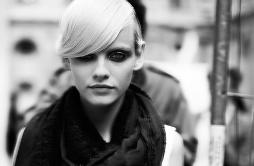 black and white, ginta lapina, model