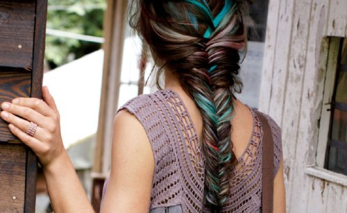 blue, chic, cool, fashion, fishtail