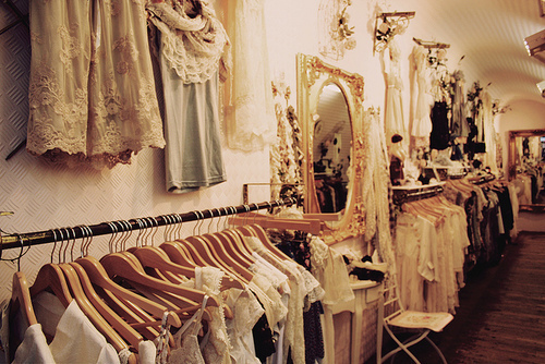clothes, fashion, girly, lace, mirror