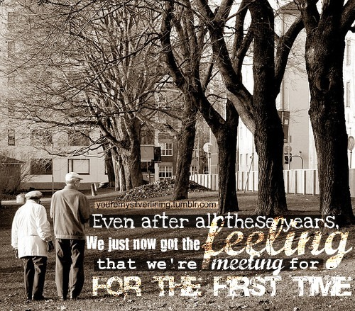 Couple cute for the first time love lyrics old couple old people