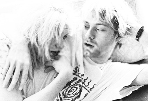 courtney, courtney love, kurt, kurt cobain, kurt&courtney