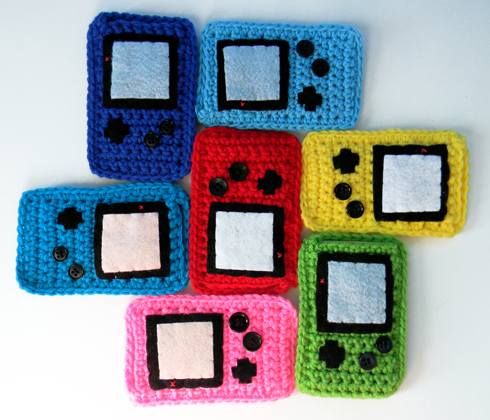 craft, crochet, etsy, game boy, gameboy