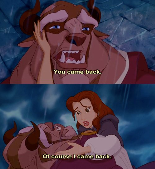 disney, movie, quote, text, the beauty and the beast