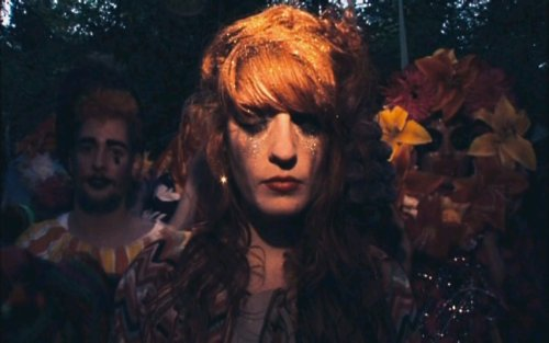 dog days are over, florence + the machine, florence and the machine, florence welch, glitter