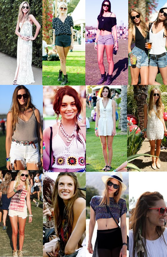 alexa, coachella, fun, girls, hippie, indie, not hippie, style, sun, sunglasses