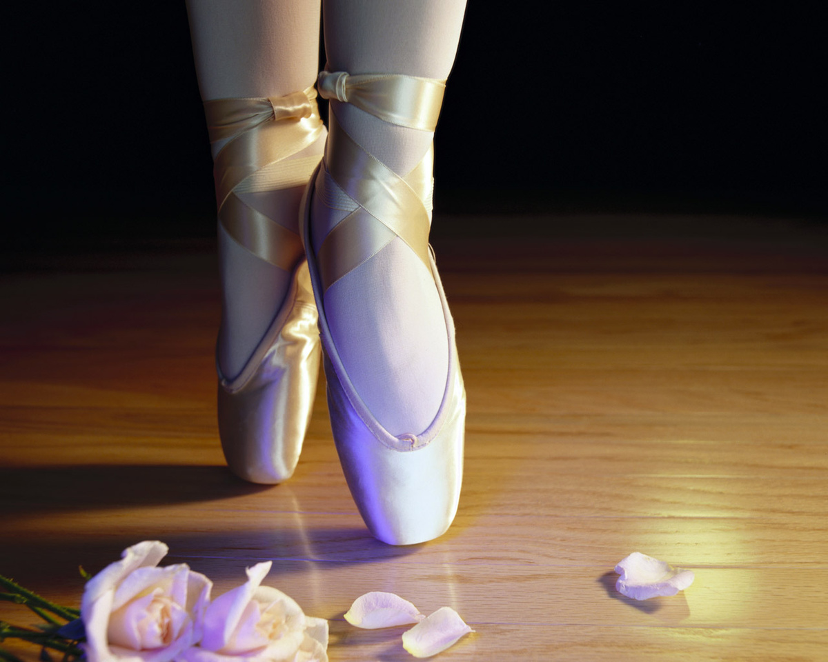 ballet, ballet flower white art, flowers, sapatilha, shoes