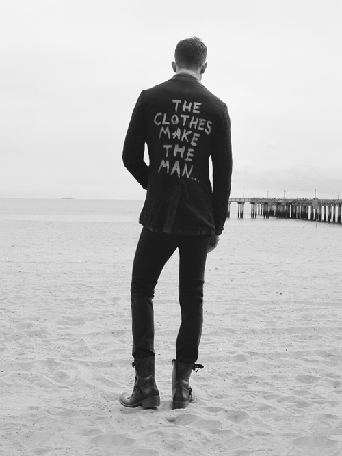 b&w, beach, black, clothes, cool