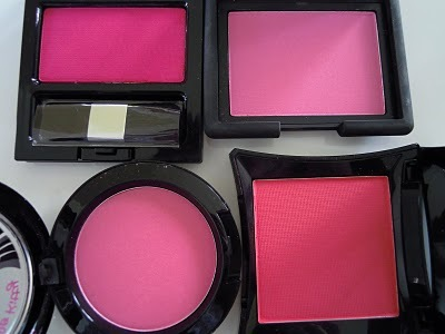 barrym, blush, bright, mac, makeup