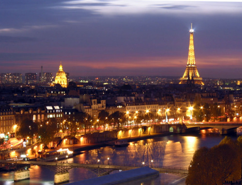 beautiful, city lights, eiffel tower, europe, france