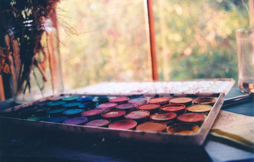 beautiful, colours, paint