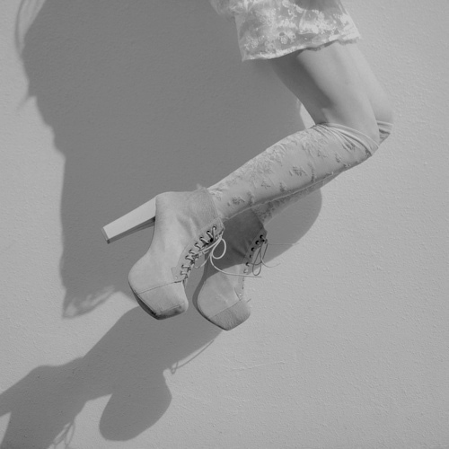 black and white, fashion, heels, jeffrey campbell, jump, stylish