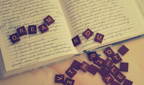 black, book, dream, inspiration, letters, vintage