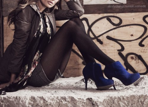 blue, booties, boots, fashion, fashion sapato