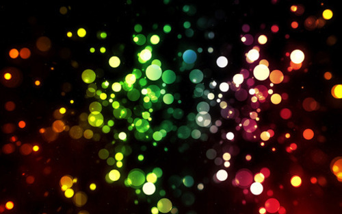 blue, green, lights, orange, pink, pretty, purple, rain, rainbow, red, sparkles, yellow