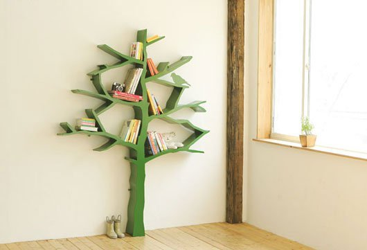 books, bookshelf, cute, decor, indie, kids, lovely, pine, retro, room, tree