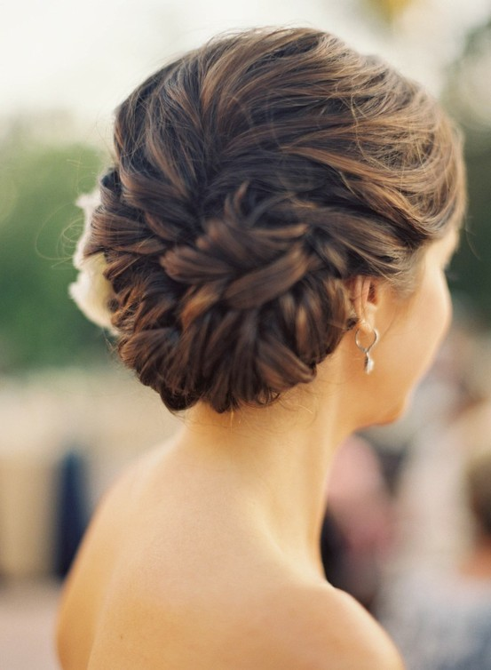 braid, bun, hair, pretty - image #196514 on Favim.com