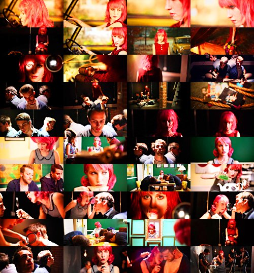 brand new eyes, dyed hair, fashion, hair, hayley williams, paramore, playing god