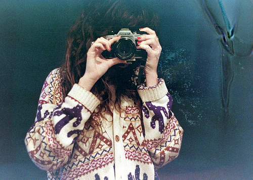 camera, cold, girl, photo, photography