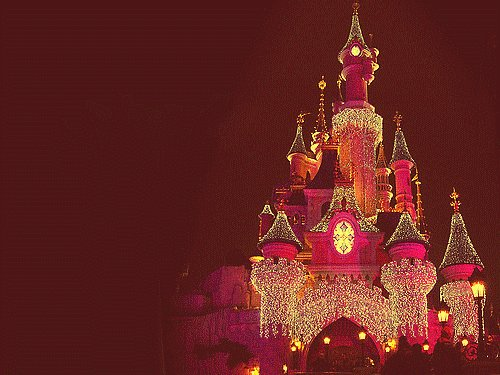 castle, cinderella, disneyland, pink, princess, royalty, shinning, sparkles, the one my first, wow