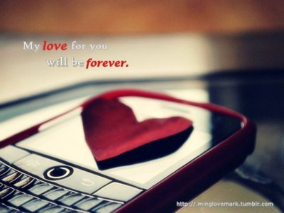 cellphone, forever, heart, inspiring, love, photography, red, separate with comma, quote, t ypo, quotes, romantic
