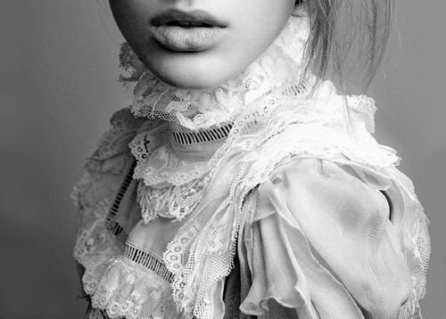 collar, fashion, lace, style