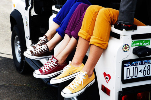 colors, converse, legs, photography, shoes, sneakers, summer, vibrant
