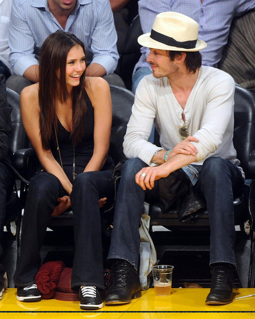 couple, girl, guy, ian somerhalder, love