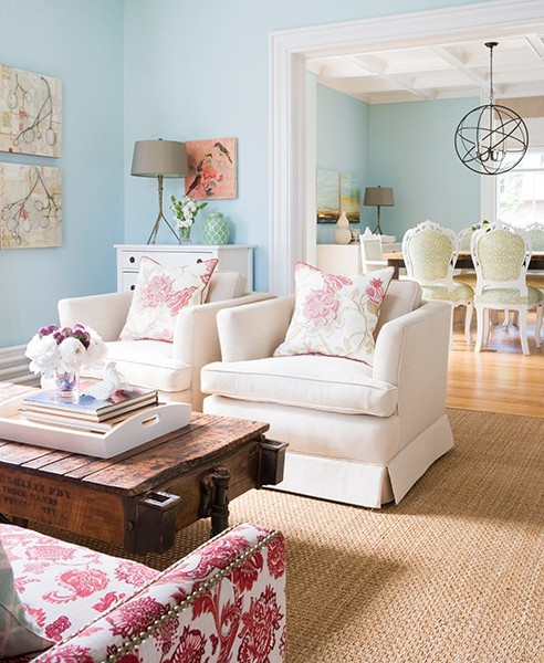 Light blue living room ideas home design inside for Living room ideas pastel