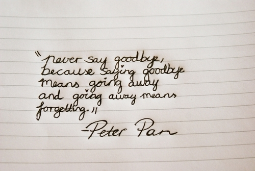 Disney Quote Quotes Peter Pan