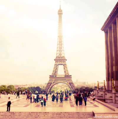 eiffel tower, lens flare, paris, people, pink