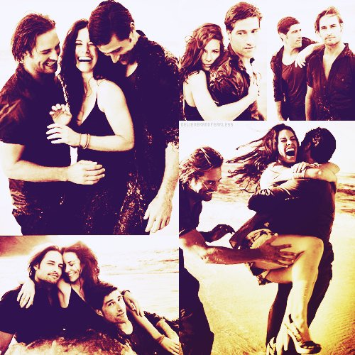 evangeline lilly, jack shepard, james ford, josh holloway, kate austen