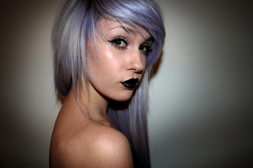 fashion, hair, lavender hair, livewithoutregretxx, style