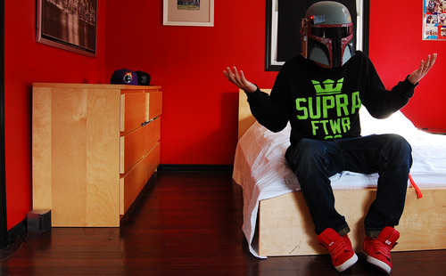 nike, red walls, storm trooper, supra