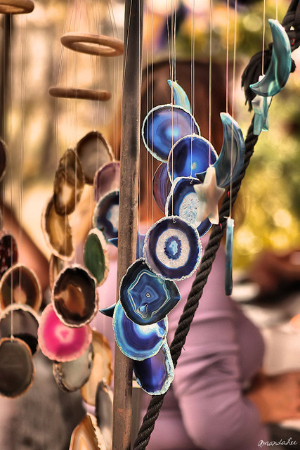 photography, pretty, shells, windchime