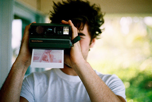/tuesdayaffairs, boy, instant, photography, polaroid