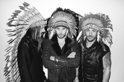 30 seconds to mars, 30stm, indian, jared leto, shannon leto, thirty seconds to mars, this is war, tomo milicevic