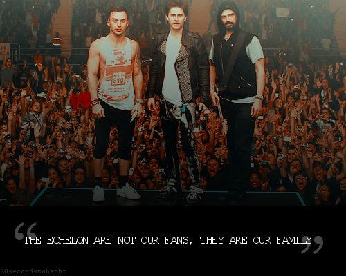 30 seconds to mars, echelon, family, jared leto, shannon leto