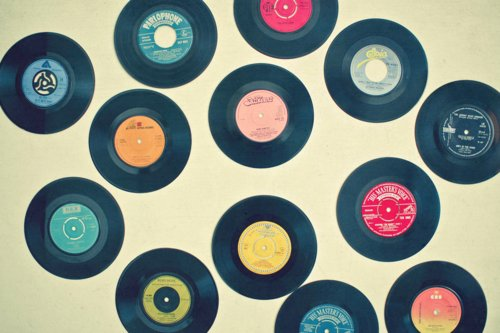 60s, colors, record, retro, vintage