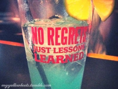 alcohol, blue, drink, jack astors, lemon, lemonade, lessons learned, no regrets, raspberry, yellow
