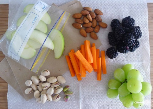almonds, apples, berries, carrots, creation