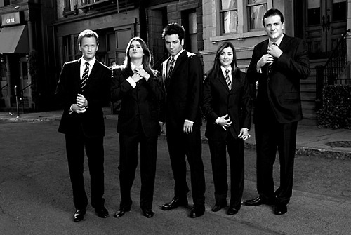 alyson hannigan, barney stinson, cobie smulders, how i met your mother, intro
