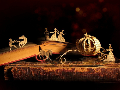 amazing, book, carriage, cinderella, cute