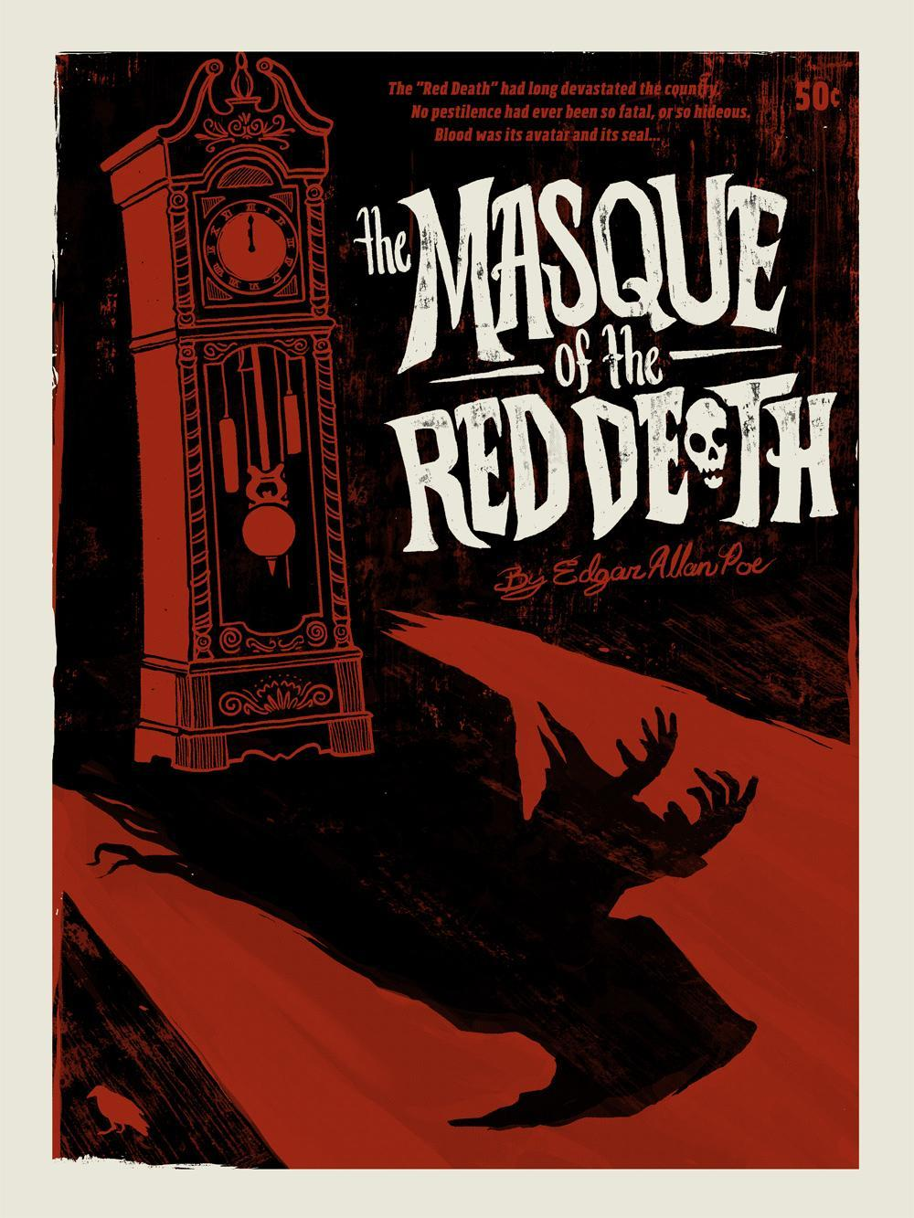 the importance of the setting in the masque of the red death by edgar allan poe
