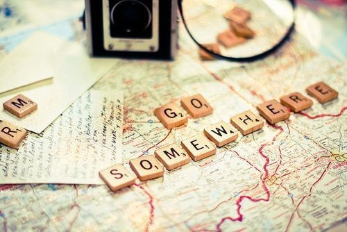 awesome, camera, map, photography, scrabble, travel, words