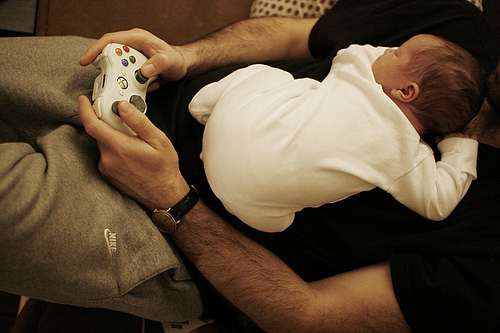 baby, play, sweet, xbox